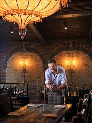 Kevin Grangier recently opened Le Moo in the old KT's on Lexington Road. The restaurant features dishes such as Steak Diane, Texas Red Fish as well as desserts such as Grammaw Evelyn's Baked Indiana persimmon pudding.  Sept. 10, 2015