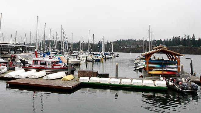 The Kingston Marina, which is owned by the Port of Kingston. The port will settle its lawsuit with Kingston resident Tania Issa.