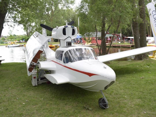 Jon Ohnstad of Fargo, North Dakota brought a Taylor Coot to the Oshkosh Seaplane Base for EAA AirVenture.