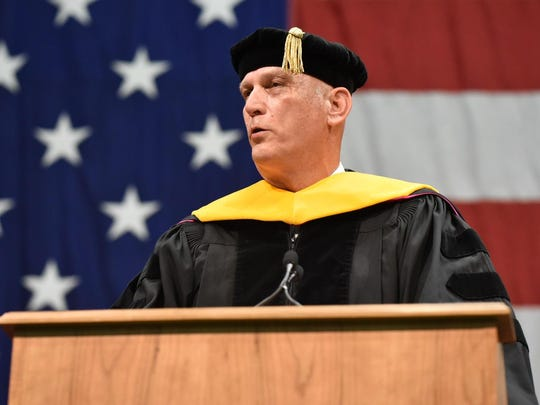 Former Army Chief of Staff Gen. Raymond Odierno gives the commencement address Saturday at Norwich University and received an honorary doctor of military science degree.