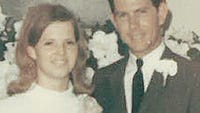 Mr. and Mrs. Allan Toliver were married July 20, 1968, in Wichita Falls.
