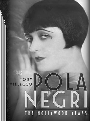"The cover for ""Pola Negri: The Hollywood Years"" was designed by Gene Czebiniak."