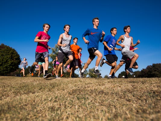 Palmetto High School cross country practice