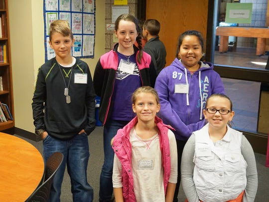 Fourth- and fifth-graders in the Wausau School District