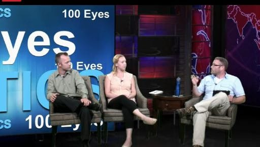 Reporters Joe Sneve, Dana Ferguson and Jonathan Ellis talk politics on #100Eyes.