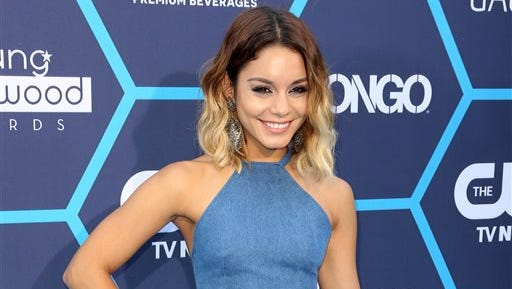 "Actress Vanessa Hudgens poses at the 16th Annual Young Hollywood Awards in Los Angeles. Hudgens will star in a Broadway-bound revival of Alan Jay Lerner and Frederick Lowe's musical ""Gigi"" that first debuts in Washington, D.C. early next year."