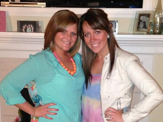 Rebecca Pankop (right) has more than 22,000 followers on a sarcastic Twitter account geared toward nurses.