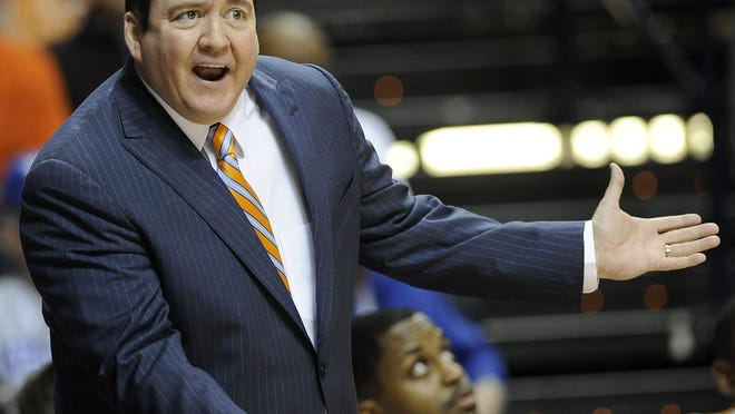 Former Tennessee and Southern Miss coach Donnie Tyndall.