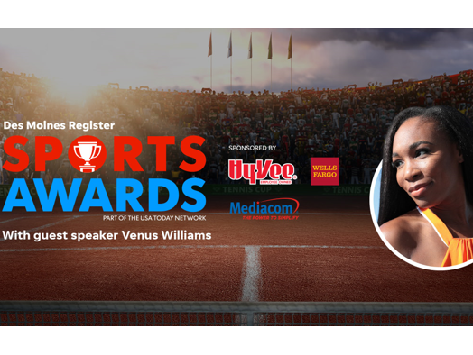 Join us June 23 to celebrate the region's top high school athletes and hear guest speaker Venus Williams.