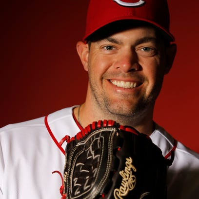 Reds relief pitcher Sean Marshall.