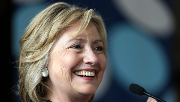 AP Hillary Clinton Womens Conference