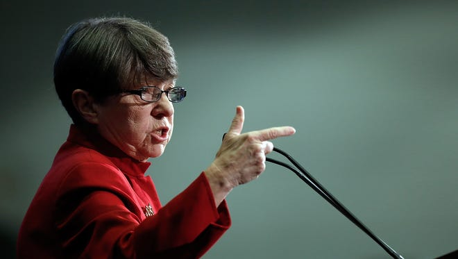 Securities and Exchange Commission Chairwoman Mary Jo White on Feb. 21, 2014, in Washington, D.C.