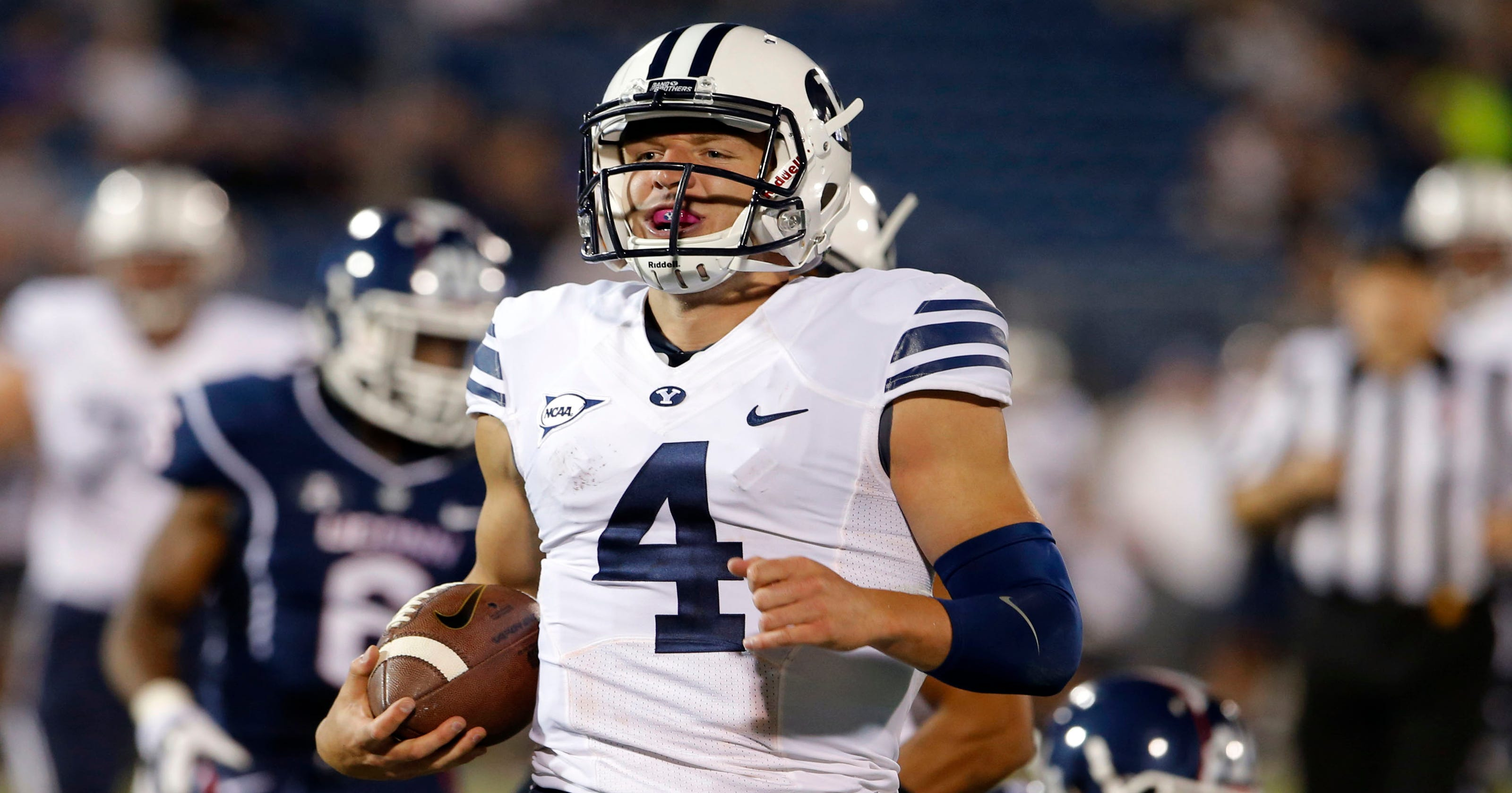 BYU's Taysom Hill understands risk and reward better than mostTaysom Hill Body