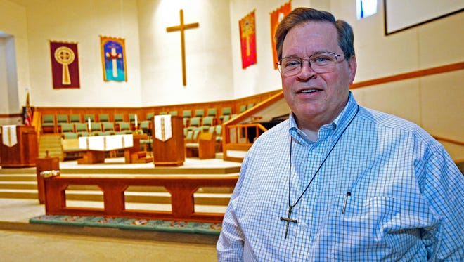 Senior Pastor Warren Coile, of St. Mark's United Methodist Church in Brandon, Miss. Among the church's members are a same sex couple and their daughter, who often attend the same services as does Mississippi's Republican Gov. Phil Bryant.