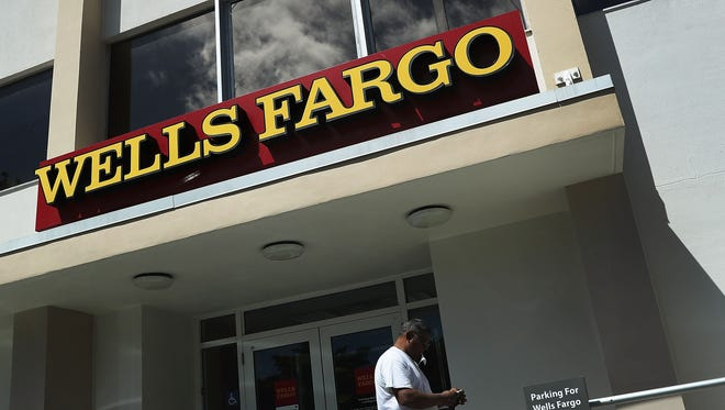 A Wells Fargo branch in Miami is shown on Sept. 9, 2016.