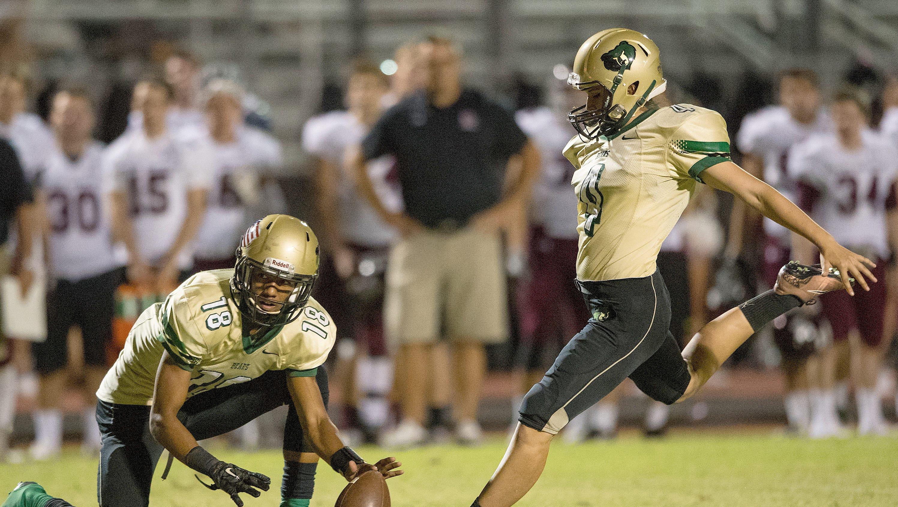 high school kicker becca longo makes college football