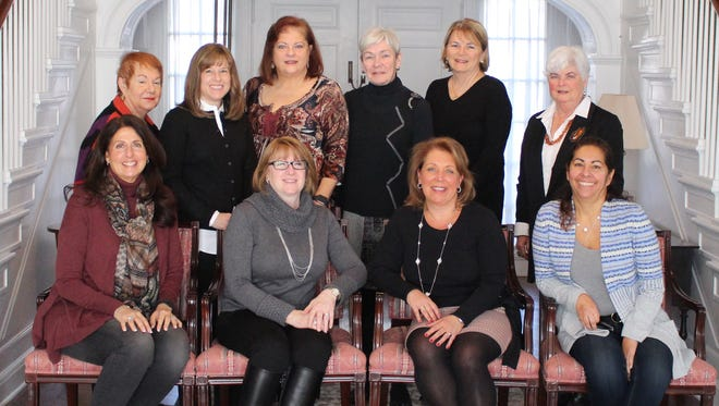 Photo Caption: 2017 Collier Youth Services Gala Committee (Standing L-R): Angela Ricciuti, Karen Stackhouse, Aurelia Cristofano, Nancy Brannegan, Fay Colligan, Georgiana Ryan (Seated L-R): Dena Weins