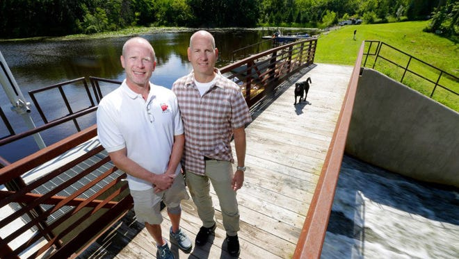 John Taylor and Dave Porter have asked a judge to settle their ownership of Upper Spring Lake near Palmyra, Wis. The state claims it owns the body of water after Taylor and Porter used their own money to rebuild the dam that impounds the lake.