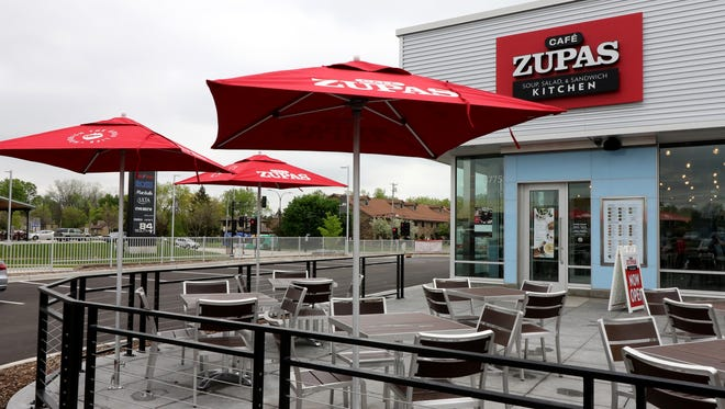 Cafe Zupas has opened at 8775 W. Sura Lane in the 84South development.