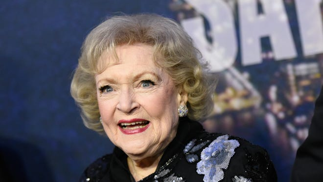 "In this Feb. 15, 2015 file photo, Betty White attends the SNL 40th Anniversary Special in New York. White, a passionate animal activist, has harsh words for the Minnesota dentist that killed a protected lion known as Cecil while on a hunting trip in Zimbabwe this month. ""You don't want to hear some of the things I want to do to that man,"" said the 93-year-old actress in an interview Thursday, July 30. White was promoting a new block of programming on Discovery Family Channel called ""Pawgust,"" throughout the month of August, with shows, specials and movies about animals. She will serve as the host of ""Pawgust,"" and be featured in promos. (Photo by Evan Agostini/Invision/AP, File)"