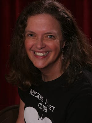 """Donna Marie Nudd in Mickee Faust Tee,"""" helped start the theater group 30 years ago."""