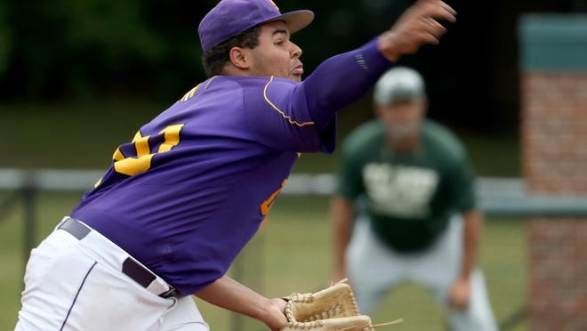 Warren De La Salle starter Nino Puckett walked seven, but kept Traverse City hitters off balance Thursday.