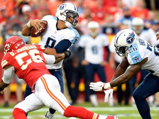 NFL: Preseason-Tennessee Titans at Kansas City Chiefs