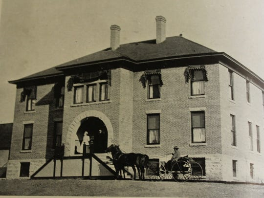 The original, 20-bed Montana Deaconess Hospital first