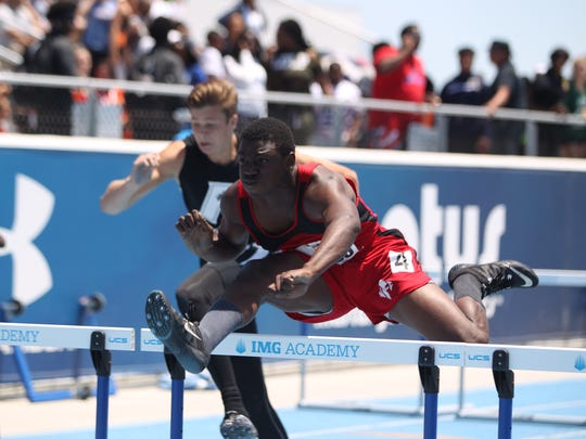 State track, Day 2: NFC's Holmes, Florida High's Mitchell