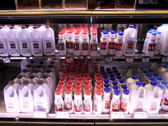 Visitors at Fair Oaks Farms can purchase all the products