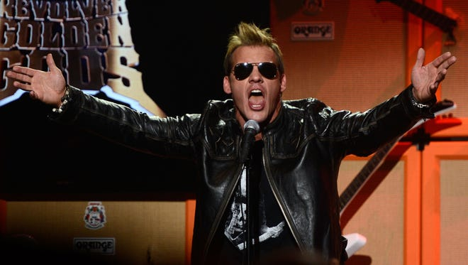 When he's not wrestling, he's rocking. WWE star Chris Jericho is bringing his band Fozzy to Green Bay Distillery for a show on May 12.