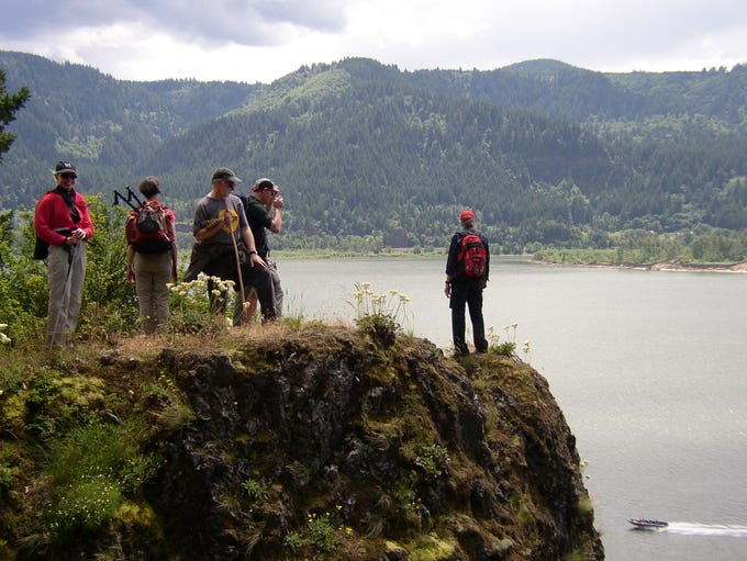 Cape Horn, on the Washington side of the Gorge, offers views and waterfalls.