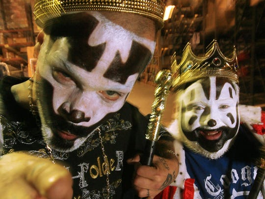 Shaggy 2 Dope and Violent J of Insane Clown Posse celebrate the 20th edition of Hallowicked on Friday at the Fillmore.