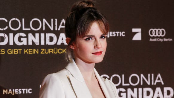 Emma Watson attends the 'Colonia Dignidad' Berlin Premiere