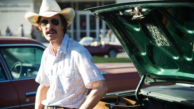Matthew McConaughey is nominated for his role as Ron Woodroof in 'Dallas Buyers Club.' Click through the interactive for a look at all the nominees.