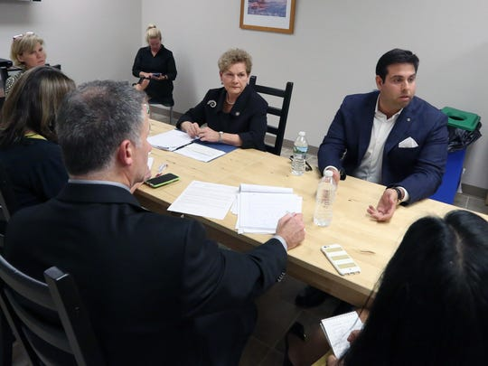 Editorial Board endorsement interview with NYS Assembly District 97 Assemblywoman Ellen Jaffee and challenger Joseph Chabot Oct. 18, 2016.