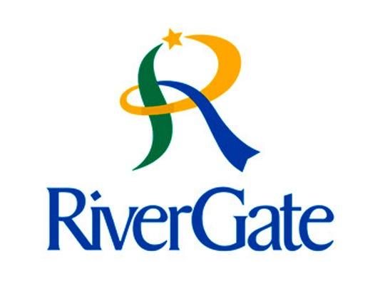 Rivergate Mall logo
