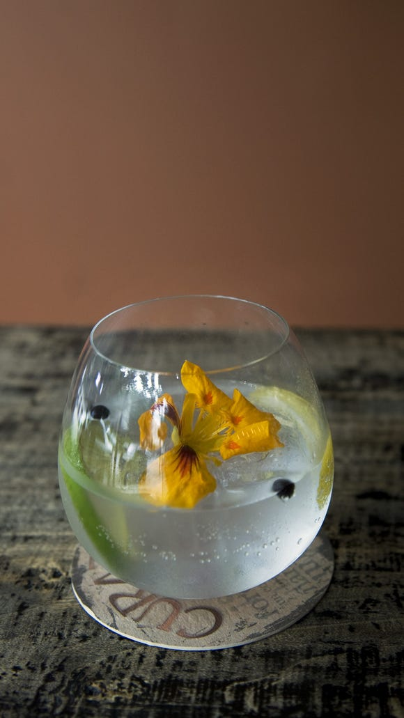 Curate's soothing gin and tonic.