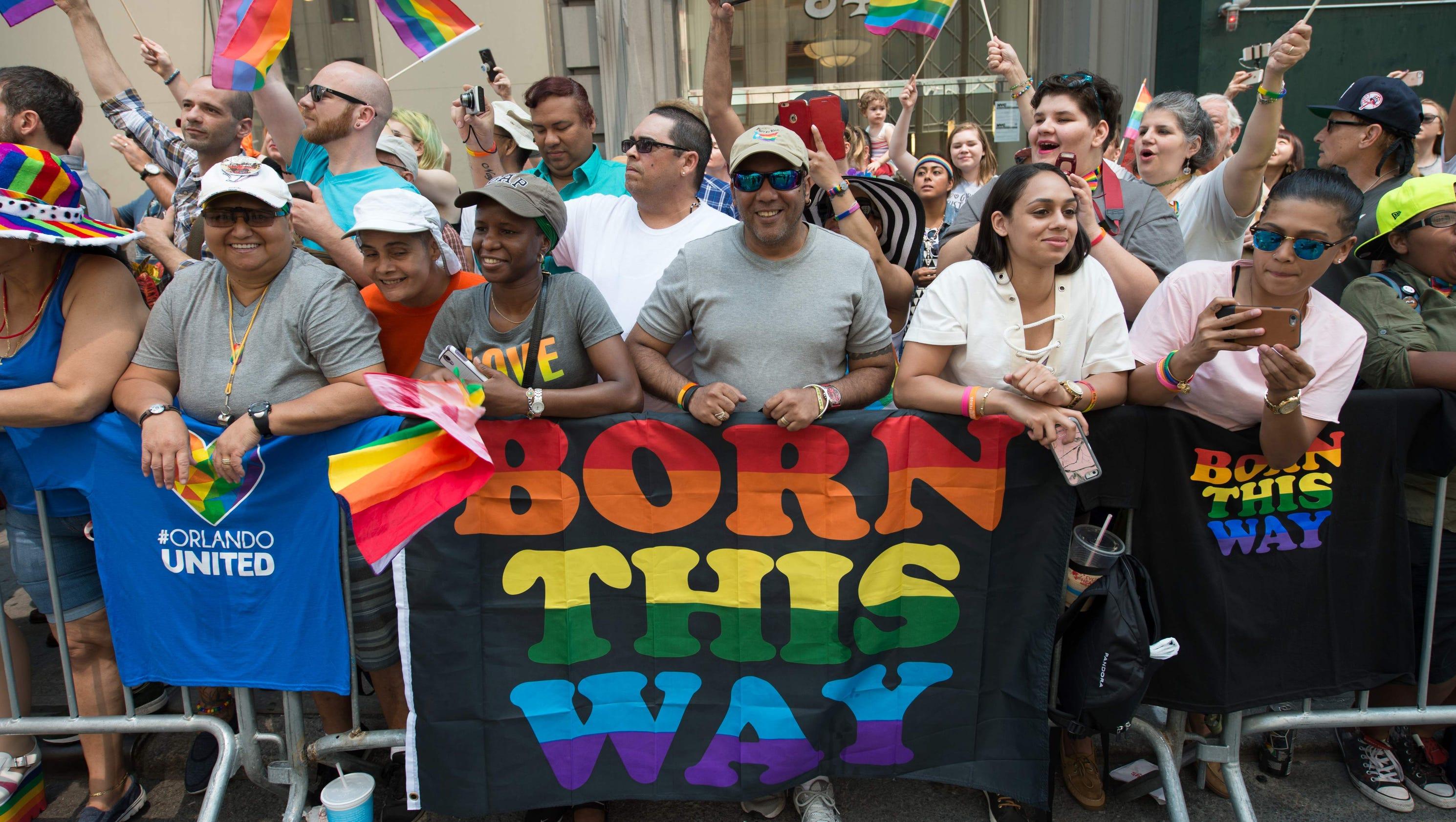the gay community in so many ways