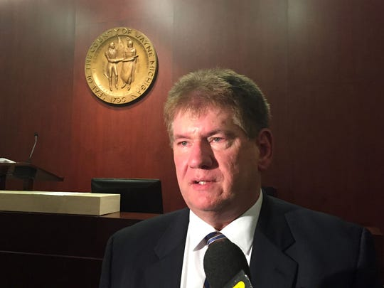 Wayne County Commission Chair Gary Woronchak, D-Dearborn, says the county's pension system is secure despite a dispute over reorganizing the pension board.