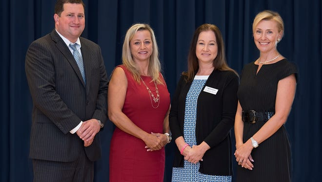 D.W. Craig Dreyer, Nancy Goethel, Carroll Lynn Blackard and Galina Koval participated in the second annual Estate Planning Council Symposium.