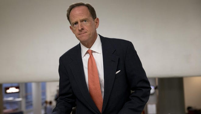 Sen. Pat Toomey, R-Pa., will face Democrat Katie McGinty in the upcoming Senate race.