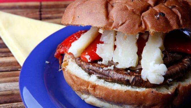 Smoketown USA's portobello burger