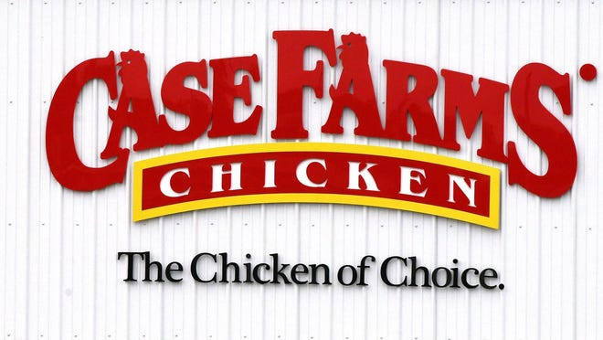 Case Farms' chicken processing plant in Canton had 150 cases of the coronavirus, the largest in the region, and one death linked to an outbreak there.