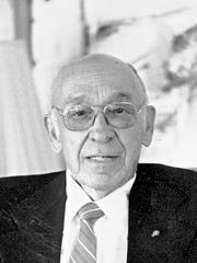 Longtime community leader and politician Ernest Ponce, who in 1951 was the first Hispanic elected to the El Paso City Council, will be a 2015 inductee into the El Paso County Historical Society's Hall of Honor.