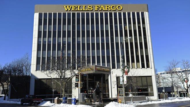 Wells Fargo in Downtown Sioux Falls.