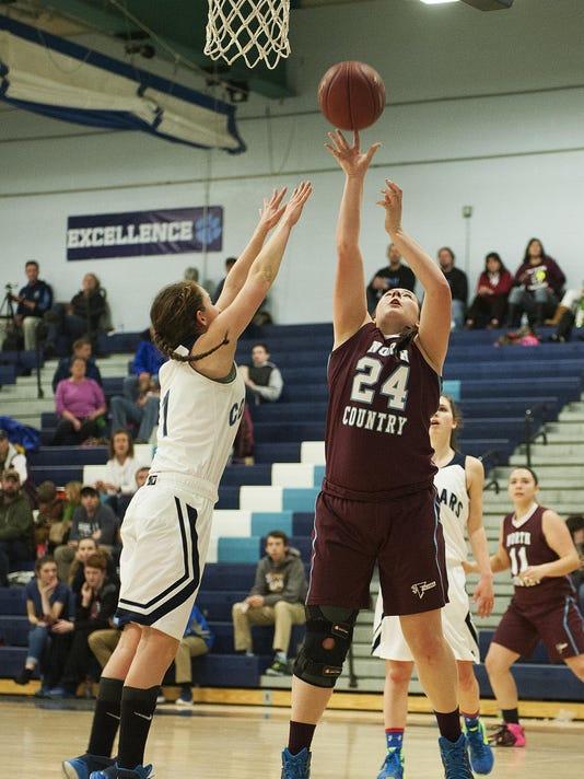 Spaulding vs. Mount Mansfield Girls Basketball 02/15/16