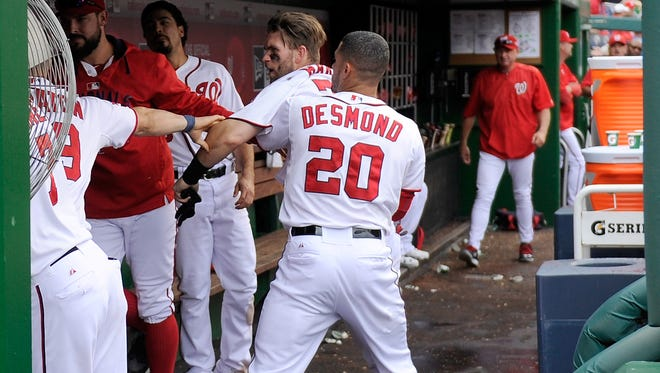 Bryce Harper and Jonathan Papelbon clearly didn't see eye to eye.