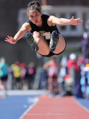 Tiffany Bautista, a junior from Paramus Catholic, is scheduled to compete in the long and triple jumps at the BMOC on Friday. She leads North Jersey in the long and triple jump.