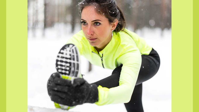Fewer daylight hours in winter present additional challenges for outdoor exercise, Dr. Cooley noted.